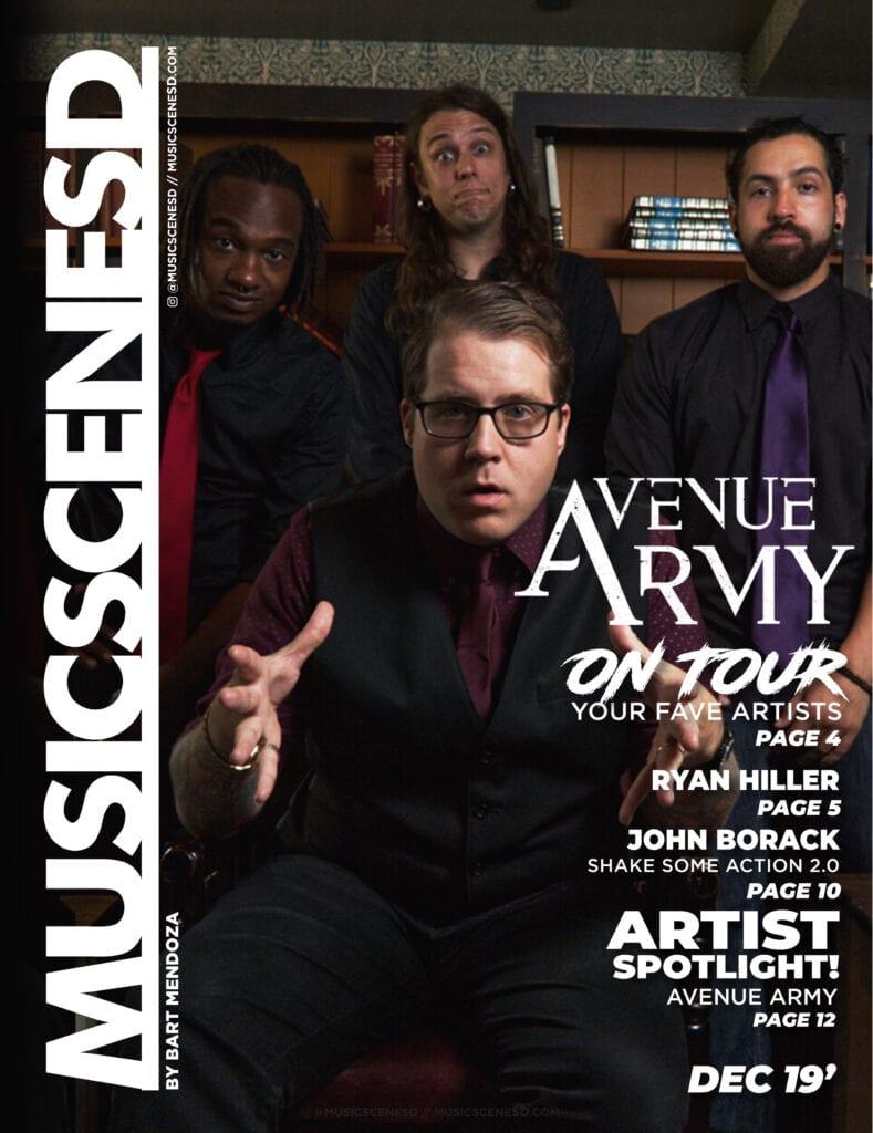 Music Scene San Diego - December 2019 Edition